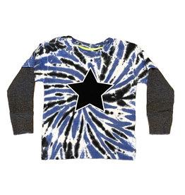 Mish Blue/Black TD Star Tee