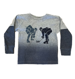 Mish Ombre Hockey Face Off Tee