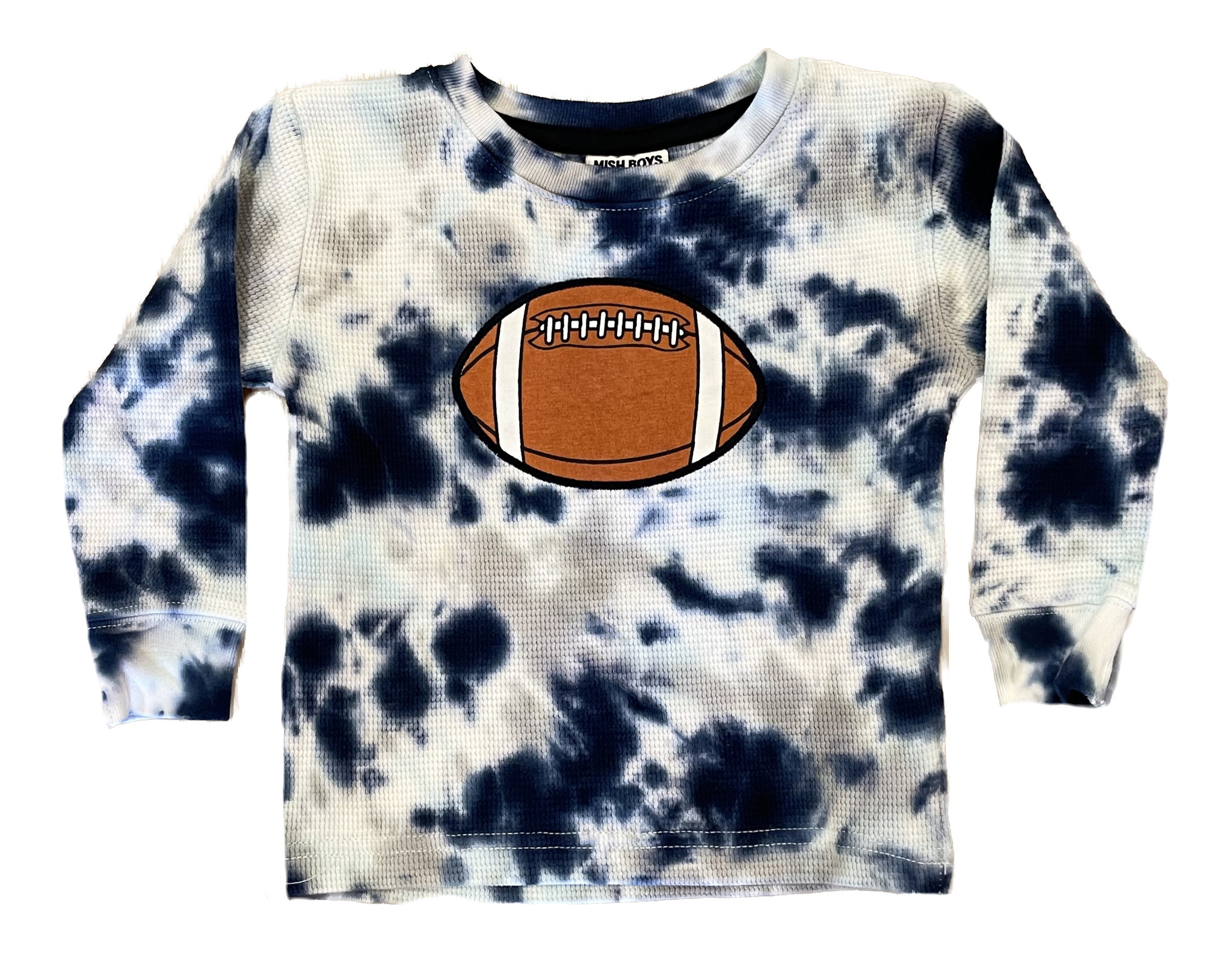 Mish Blue TD Football Infant Thermal