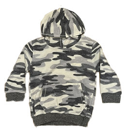 Cozii Grey Camo Pullover