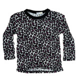 Cozii Wht/Pk Leopard Thermal Infant Top