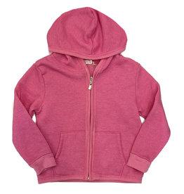 Cozii Hot Pink Soft Fleece Zip Hoodie