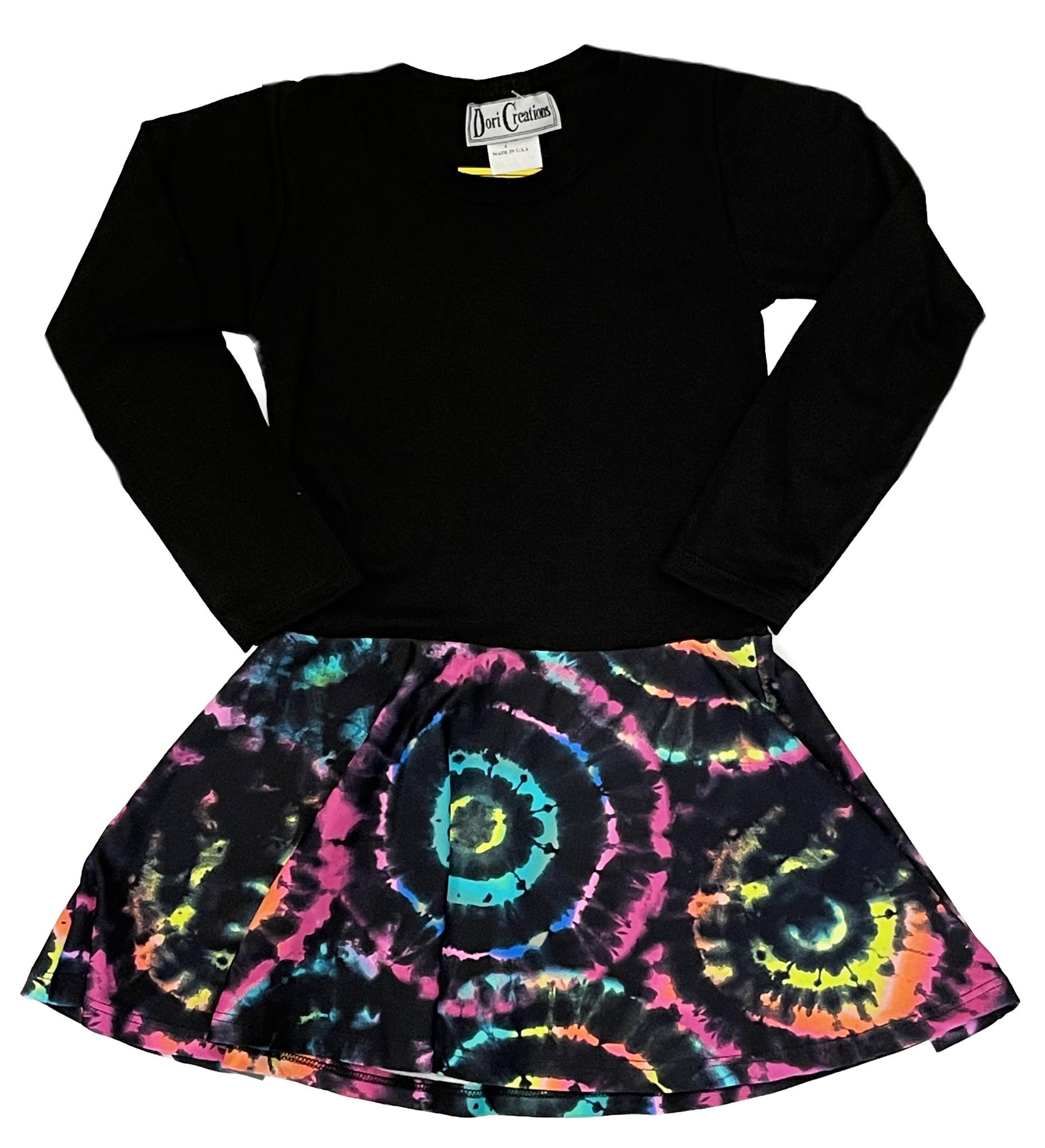 Dori Brite Circle Dress