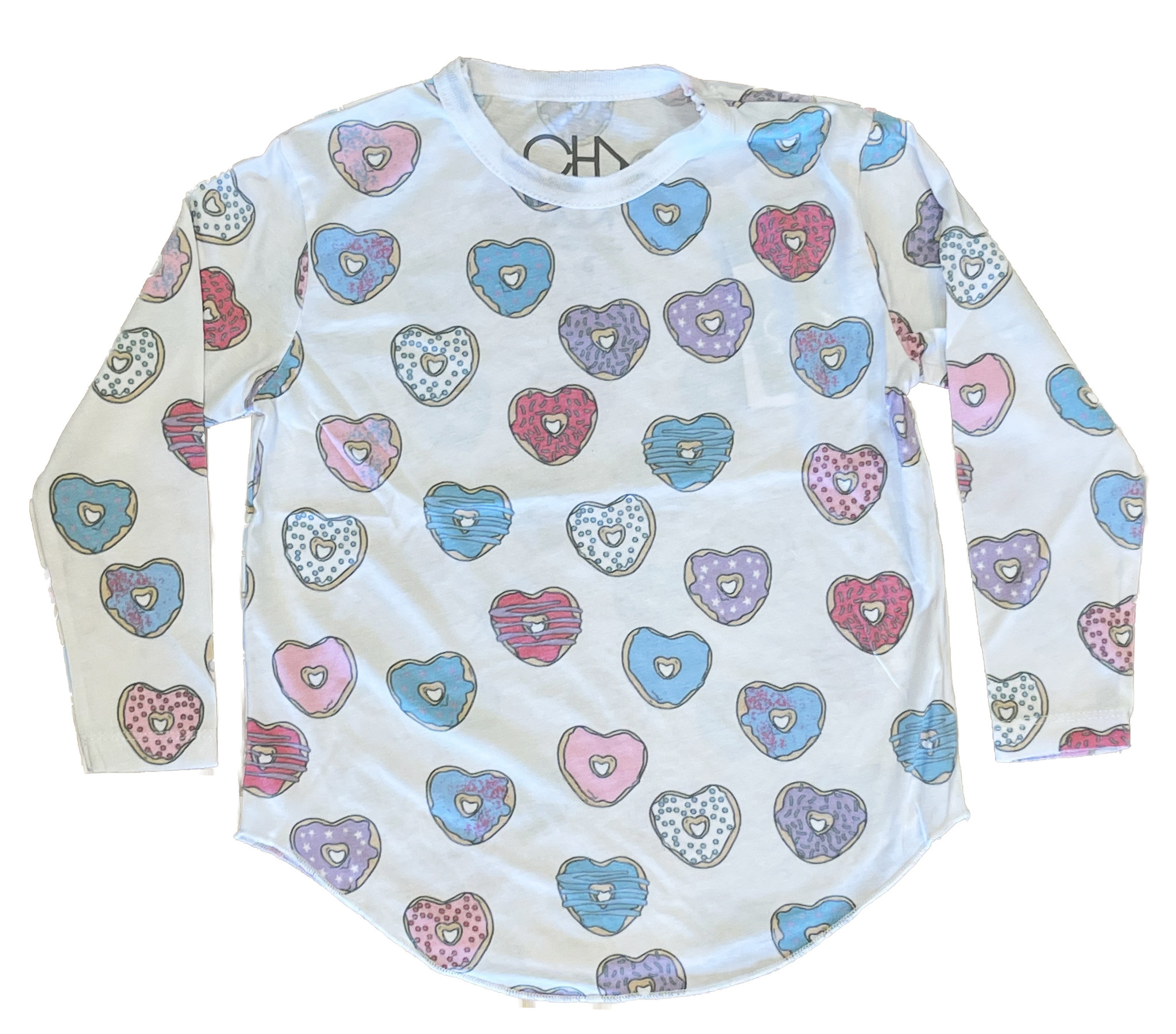 Chaser Heart Donuts Top