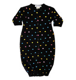 Little Mish Rainbow Hearts Thermal Gown