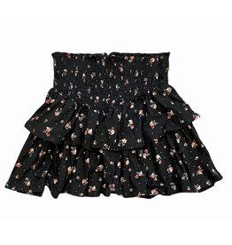Tweenstyle Ebony Floral Skirt