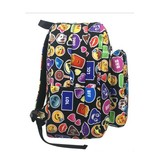 Black Emojicon Funk Backpack