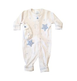 Too Sweet Splatter Minky Star Outfit