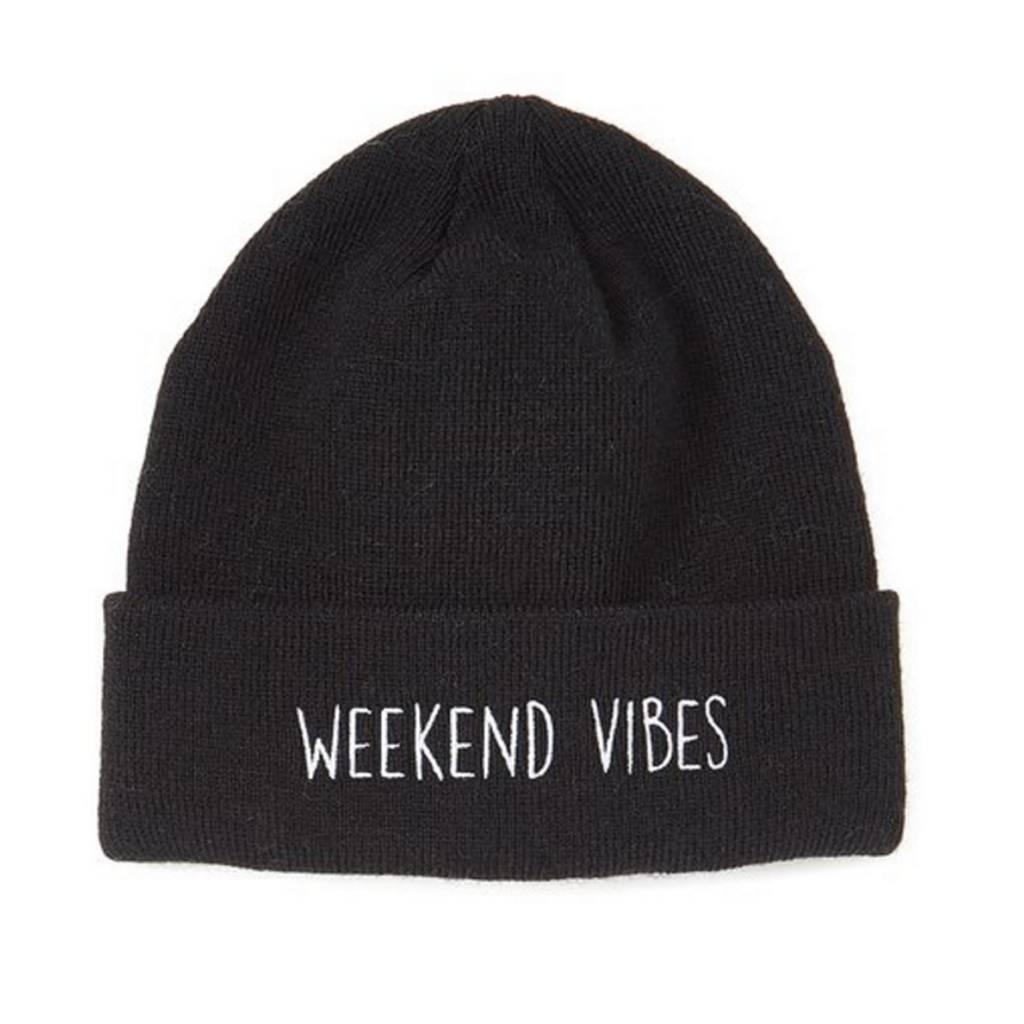 Black Weekend Vibes Beanie