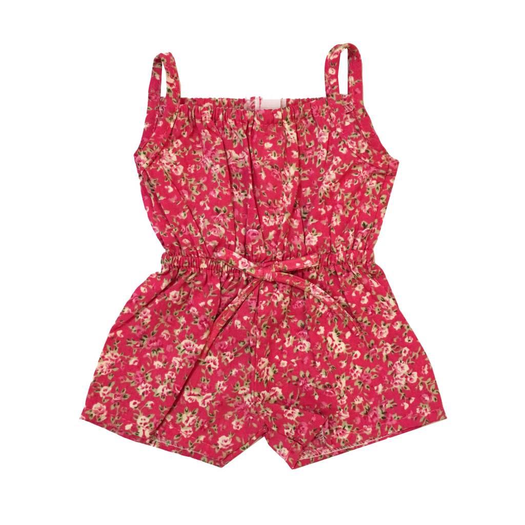 Doll Pink Floral Romper