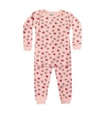 Baby Steps Candy Hearts Infant PJ Set