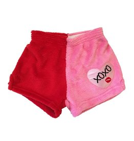 Chamor XOXO Heart Patch Shorts
