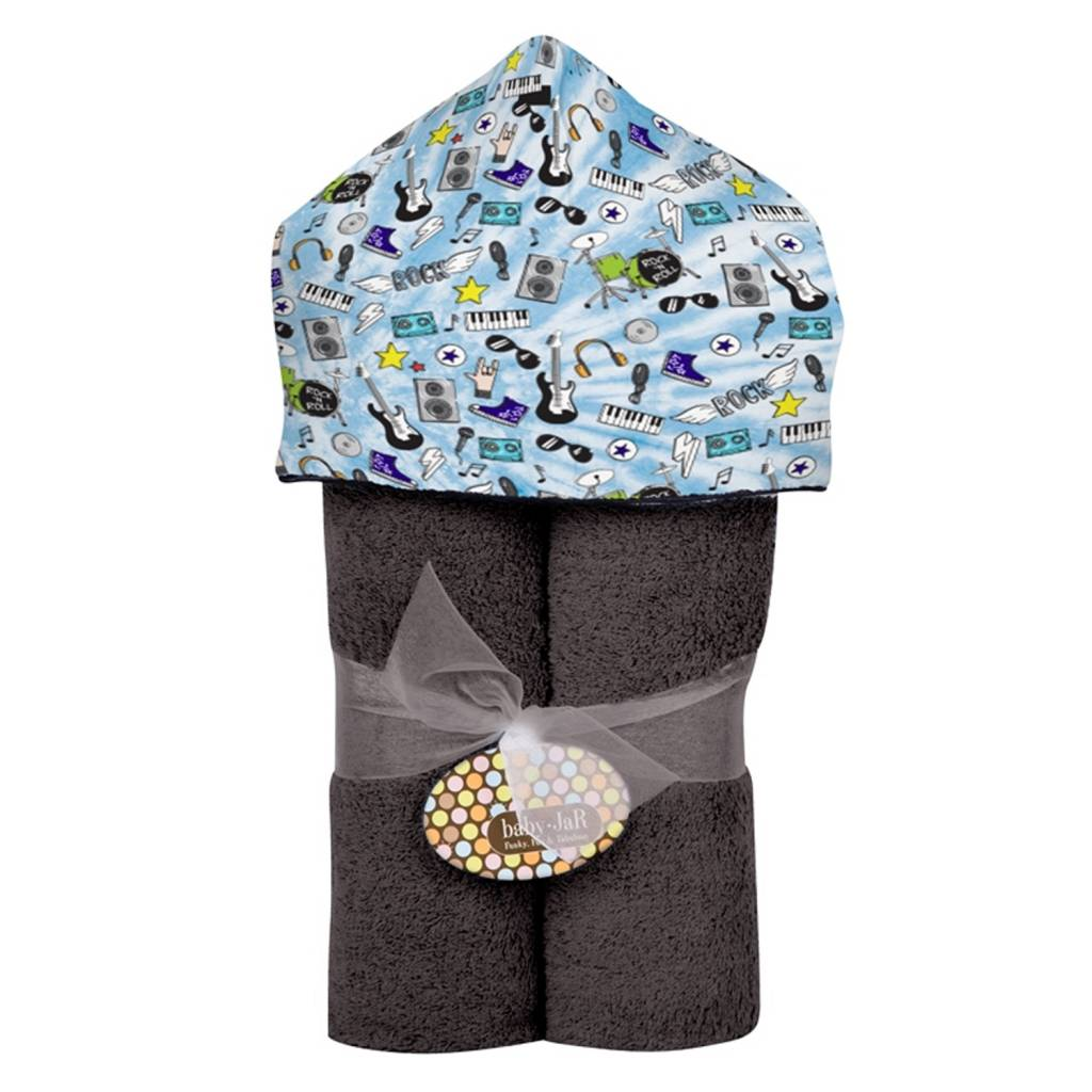 Baby Jar Rock' N Roll Hooded Towel