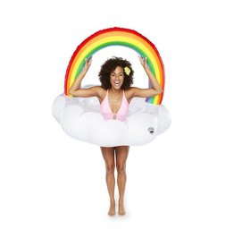 Rainbow Cloud Pool Float