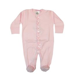 Baby Steps Rosettes Footie