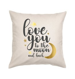 Natural Moon & Back Pillow