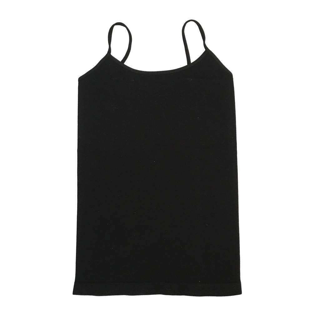 Malibu Sugar Black Long Cami 7-10