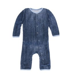 Kickee Pants Denim Coverall