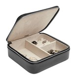 Medium Black Travel Jewelry Case