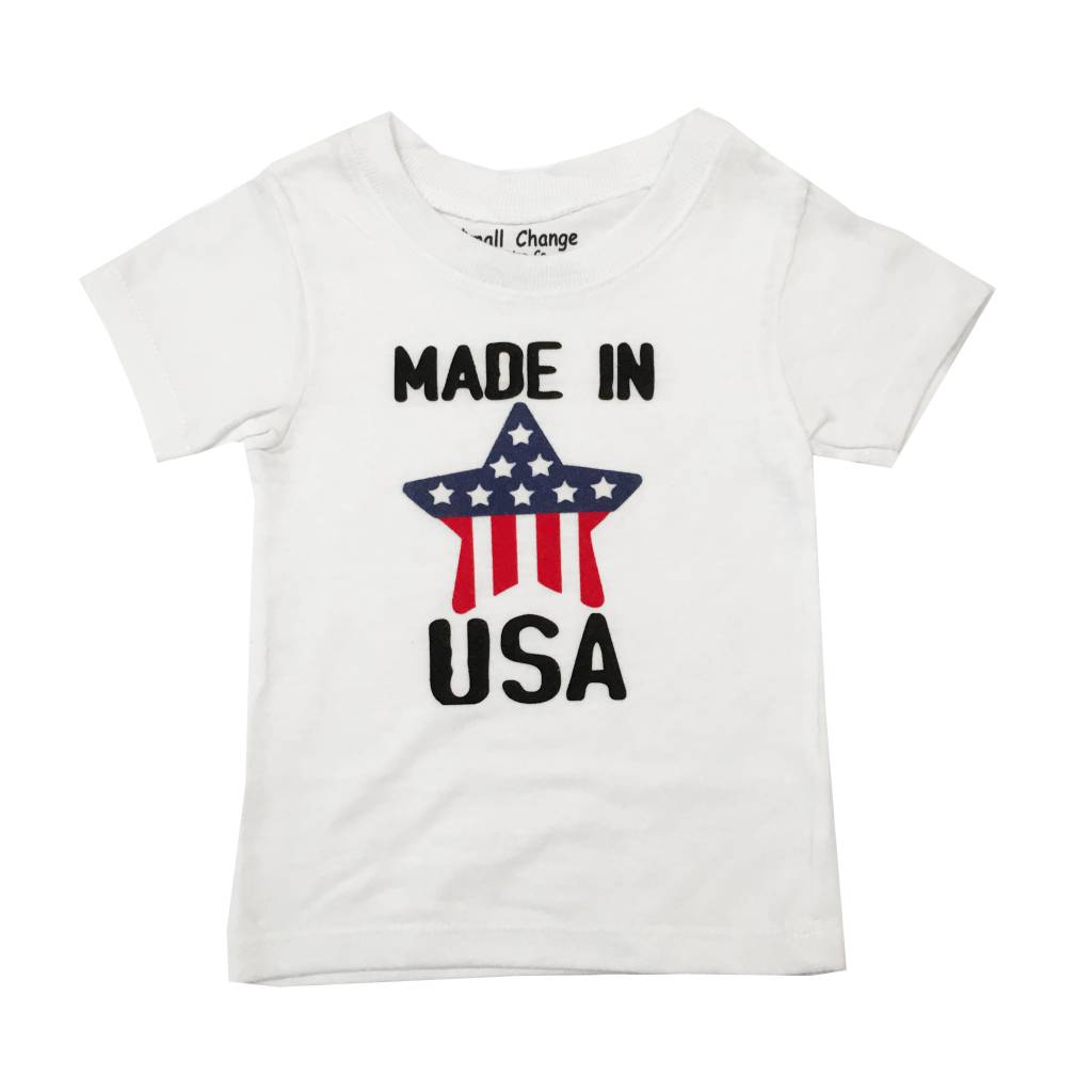 Small Change Made in the USA Star Tee