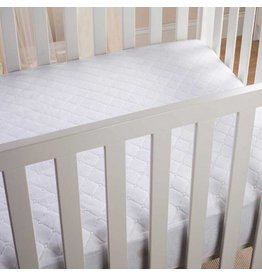 Fitted 4-Ply Waterproof Crib Pad