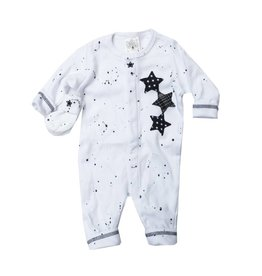 Too Sweet Black Splatter Triple Star Outfit