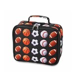 Sports Print Lunch Box