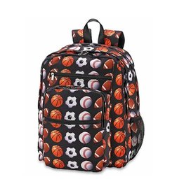 Sports Print Backpack
