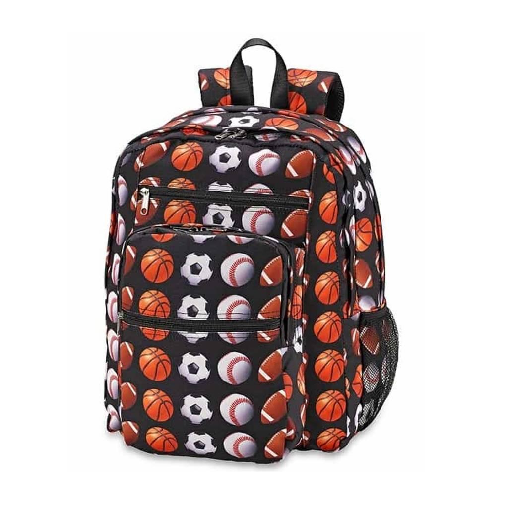 Sports Print Backpack