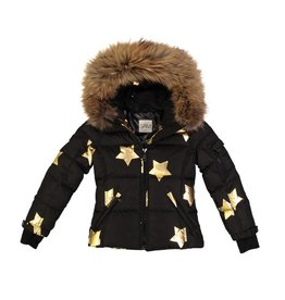 SAM Blake Fur Hooded Stars Jacket