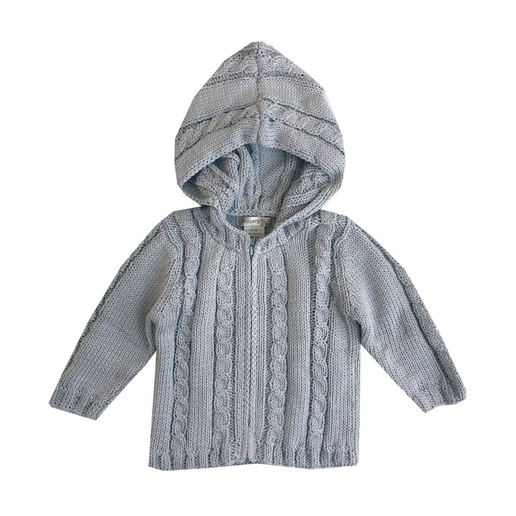 Image result for hooded cable knit child's sweater