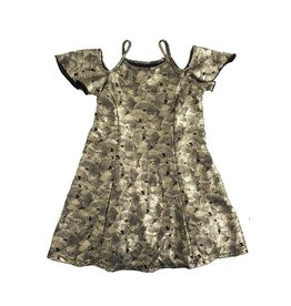 Flowers by Zoe Gold Swirl Dress