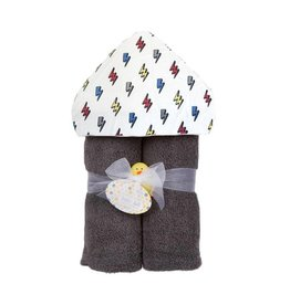 Baby Jar Lightning Bolt Hooded Towel