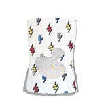 Baby Jar Lightning Bolt Burp Cloth