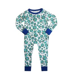 Rowdy Sprout Grateful Dead Infant 2pc PJ Set