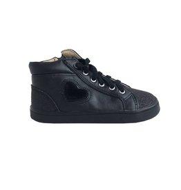 Old Soles Black Glam Heart Sneaker