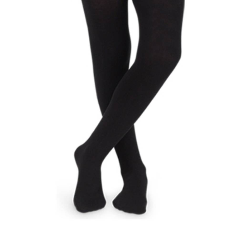 Jefferies Black Microfiber Tights