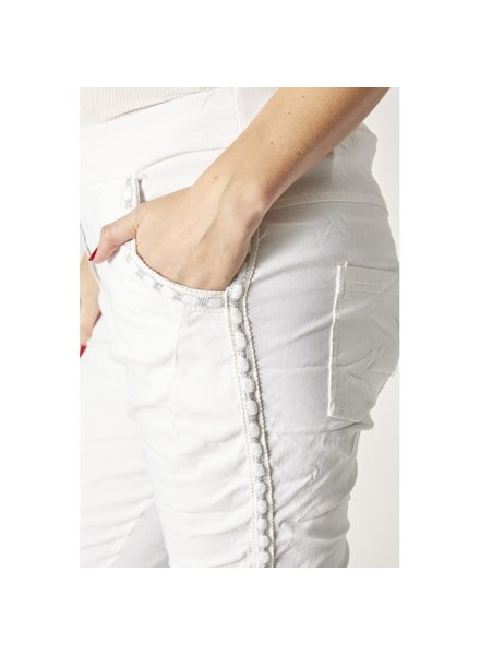 Jegging Pant with Metallic Accent