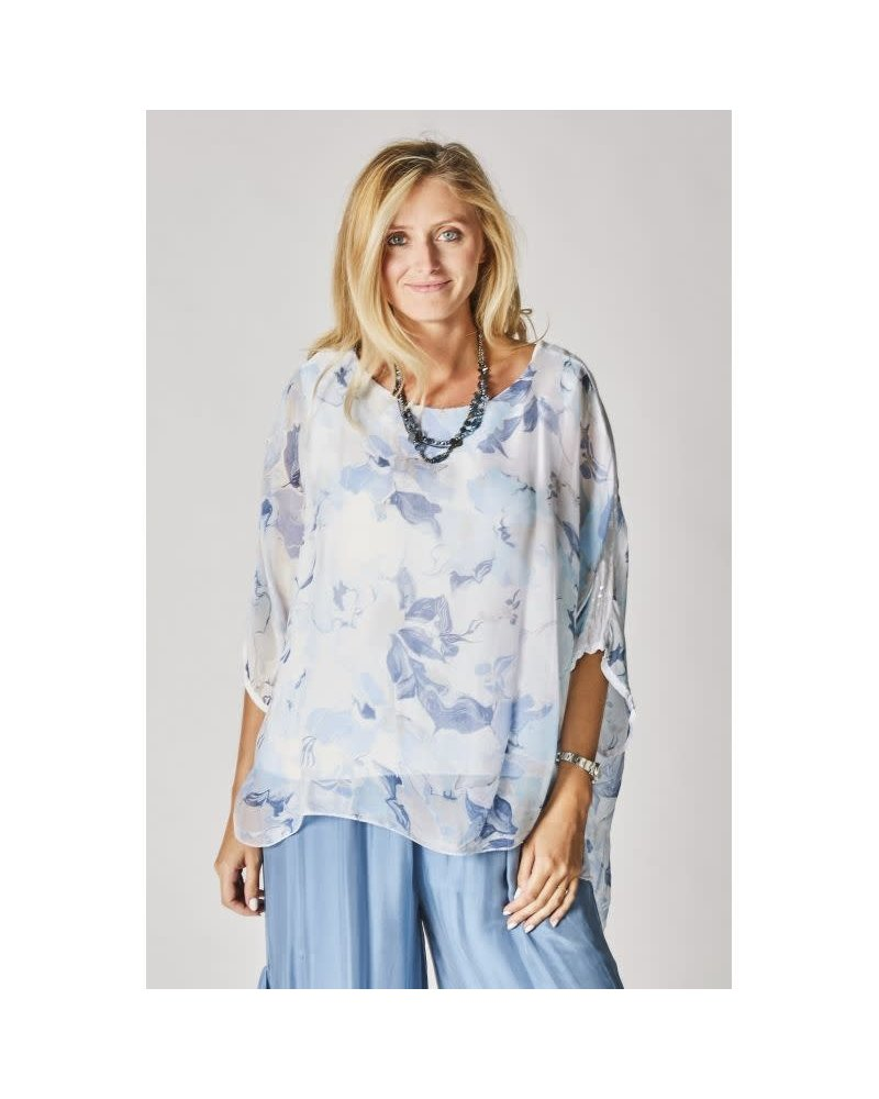 Silk Flower Top