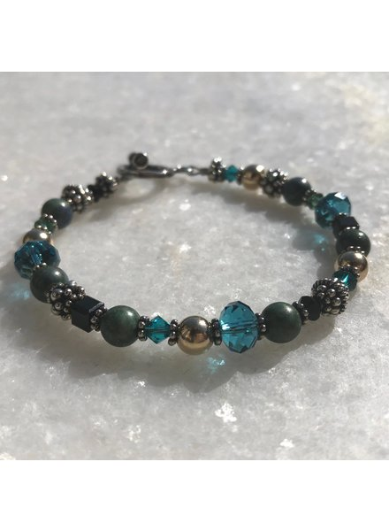 Out Of The Fire Colors of Heaven Crystal Bracelet