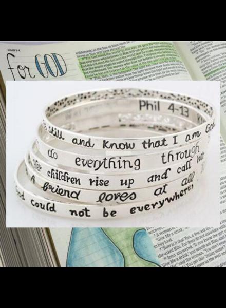 Scripture Bangles