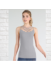 Triple Cross Lattice Front  Cami