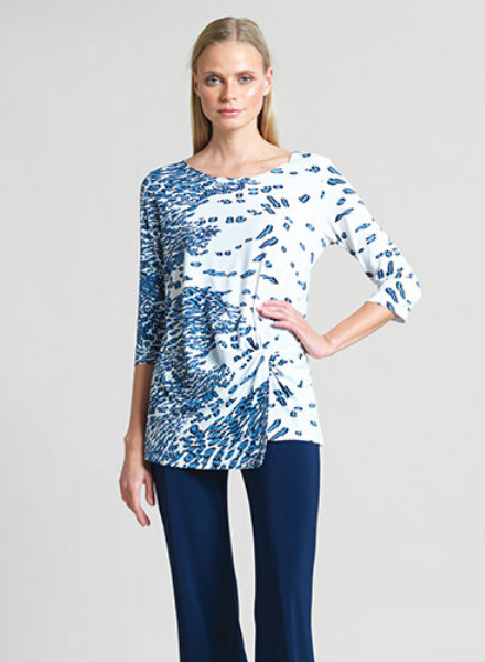 Twist Hem Modern Animal Tunic