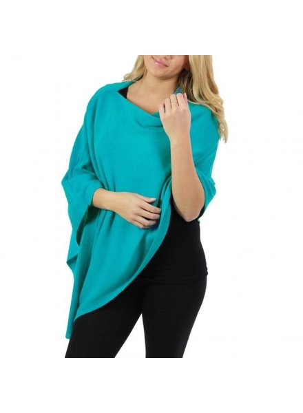 Cashmere Feel Poncho