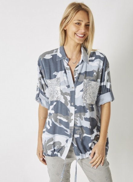 Camo Reimagined  Button Down