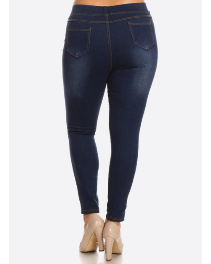 Ripped Jegging Plus