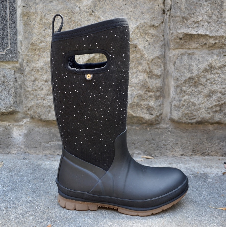 Bogs Bogs Crandall Tall Speckle size 10 only