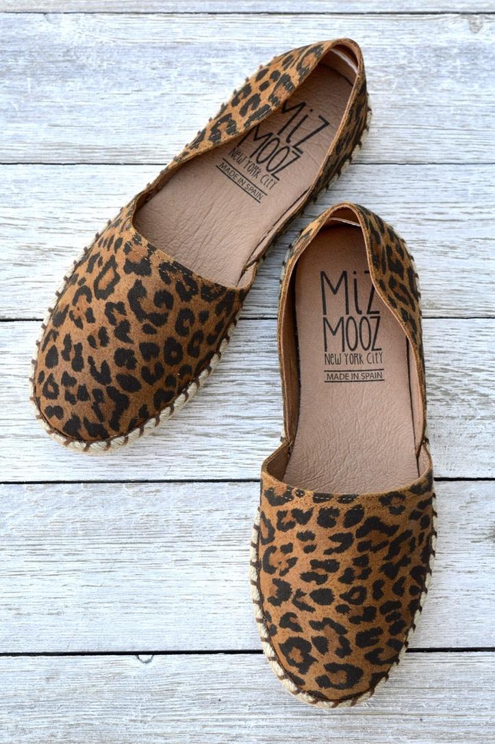 Miz Mooz Miz Mooz Cherie Leopard