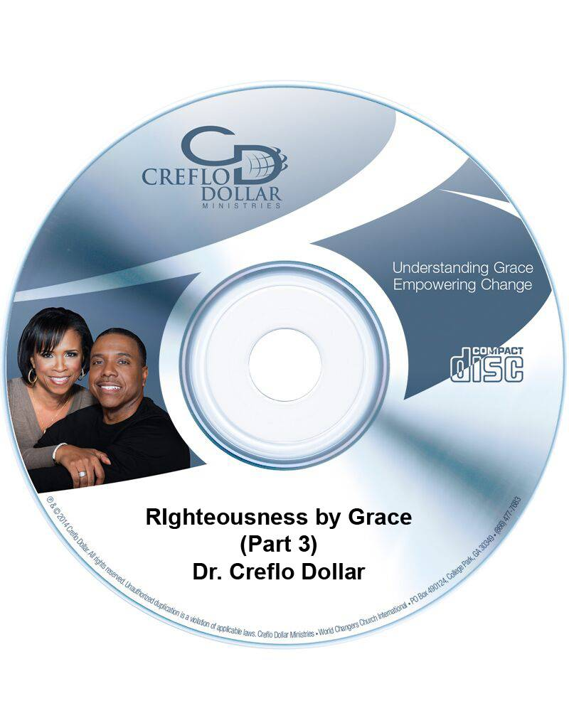 Righteousness by Grace (Part 3) - CD Single