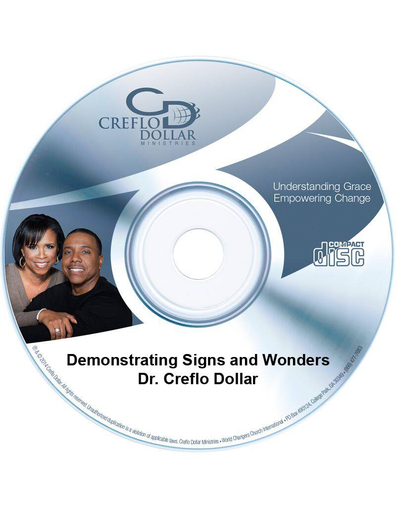 Demonstrating Signs and Wonders:  CD Single